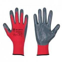 Γάντια εργασίας νιτριλίου UNI-TOP WURTH