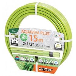 """Λάστιχο ποτίσματος Aquaviva Plusv 15m. 1/2""""  Claber"""