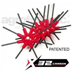 Ελαστικά ημισφαίρια x.32 Carbon