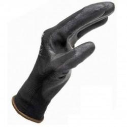 Γάντια εργασίας WURTH μαύρα PU LEICHT